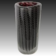 Vintage Modern European Art Glass Vase ca1950