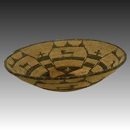 Antique Native American Apache Basket ca1900