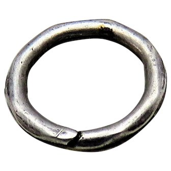 Silver SPLIT RING Antique Victorian for Lockets Pendants Charms & Fobs 3