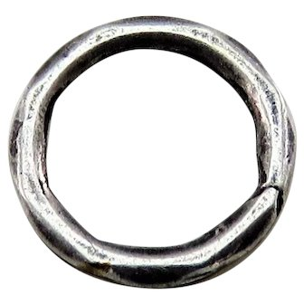 Silver SPLIT RING Antique Victorian for Lockets Pendants Charms & Fobs 2