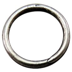 Silver SPLIT RING Antique Victorian for Lockets Pendants Charms & Fobs 1