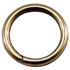 9k Gold SPLIT RING Antique Victorian for Lockets Pendants Charms & Fobs 5