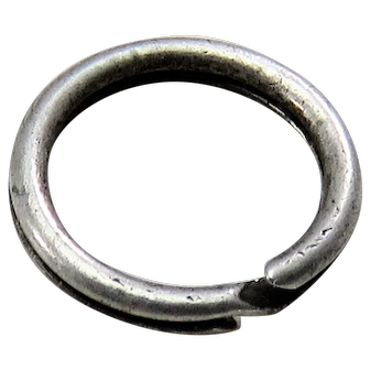 Silver SPLIT RING Antique Victorian for Lockets Pendants Charms & Fobs E