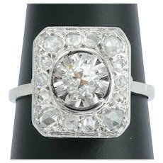 Antique Diamond engagement ring circa 1915