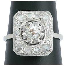 Antique Diamond engagement ring circa 1915
