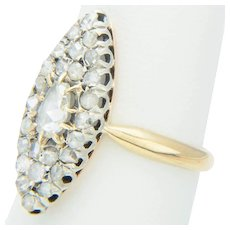 Antique Victorian diamond ring circa 1860