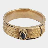 Antique belt ring Victorian circa 1850 s