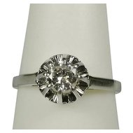 0.35 Carat diamond engagement ring