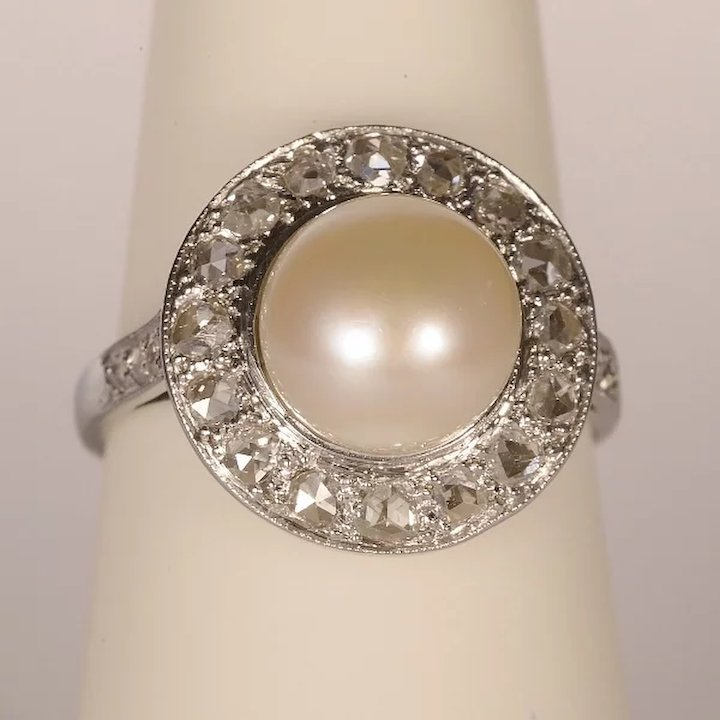 timeless engagement for brides jewellery pearl erstwhile bride rings the polished gallery styles