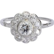 1.20 cwt sparkling Diamonds engagement ring circa 1915 s