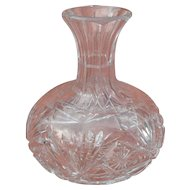 American Brilliant Period Water Wine Liquor Decanter Carafe