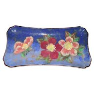 Vintage Royal Doulton Wild Roses Sandwich Tray D6227 1951