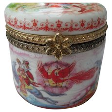 The Firebird Tikhomirov Lucy Maxym Trinket Box
