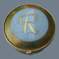 Tiffany Le Tallec Gold Round Signed Pill Box