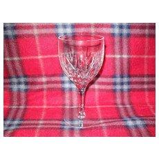 "Stuart Crystal Kent Pattern Wine Glass 5 3/4"""