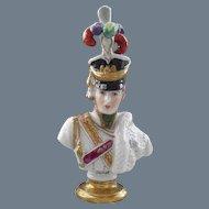 Dresden Rudolph Kammer Volkstedt Napoleonic General Junot Bust