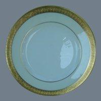 Minton Buckingham Bread Plate Gold K-159