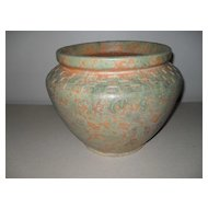 Burley Winter Mission Mottled Matte Planter/Jardiniere