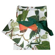 Set of Six Williams Sonoma Napkins and Placemats Botanical Acorns New