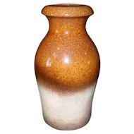 Vintage Scheurich Keramik 1970's Fat Lava Thick Glaze Vase Original Label 208-21