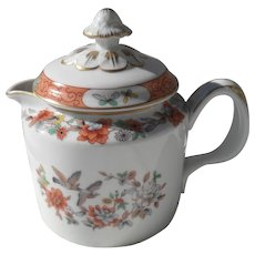 Mottahedeh Magnolia and Birds Individual Teapot