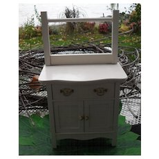 American Girl AG Samantha White Dresser Commode Retired