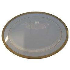 """Lenox Lowell P 67 Gold Backstamp 24 kt Gold Encrusted Large Platter 17"""""""