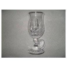 Exquisite Brilliant Waterford Glass Lismore Irish Dessert Coffee Cup Mug Crystal