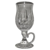 Exquisite Brilliant Waterford Glass Lismore Irish Dessert Coffee Cup Mug Crystal