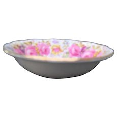 Royal Albert Serena Pink Roses Floral 839329 Fruit/Dessert Bowl