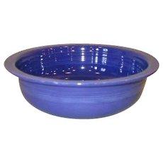 "Vintage Fiesta Fiestaware 5 1/2"" Cobalt Blue Rimmed Fruit Bowl"