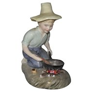 Royal Doulton River Boy HN 2128 Artist Signed Figurine