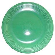 """Vintage Fiesta Green Fiestaware 12 1/4"""" Chop Plate Charger"""