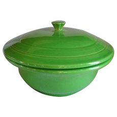 HLC USA Fiesta Fiestaware Shamrock Green Covered Casserole