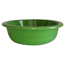 "HLC USA Fiesta Fiestaware Shamrock Green 8 1/4"" Vegetable Bowl"