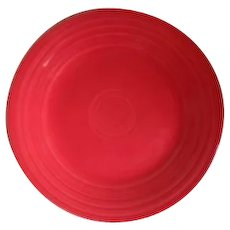 HLC USA Fiesta Fiestaware Scarlet Red Dinner Plate