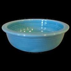 "Vintage Fiesta Fiestaware 4 3/4"" Turquoise Fruit Bowl"