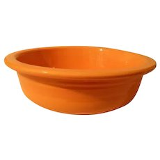 HLC USA Fiesta Fiestaware Orange Vegetable Bowl