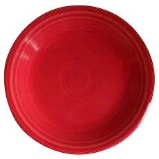 "HLC USA Fiesta Fiestaware Scarlet Red 7 1/8"" Plate"