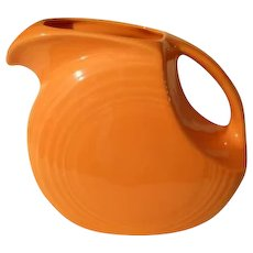HLC USA Fiesta Fiestaware Orange Pitcher