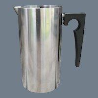 MCM Arne Jacobsen Stelton Stainless Steel Cylinda Pitcher 32 oz