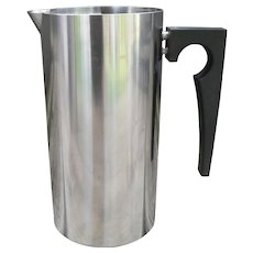 MCM Arne Jacobsen Stelton Stainless Steel Cylinda Pitcher 32 oz