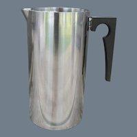 MCM Arne Jacobsen Stelton Stainless Steel Cylinda Pitcher 50 oz