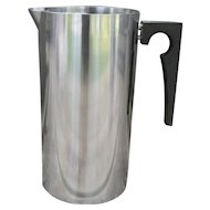 MCM Arne Jacobsen Stelton Stainless Steel Cylinda Pitcher 50 oz