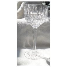 Waterford Baltray Cut Crystal Glass Wine Hock