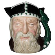 Royal Doulton Miniature Viking Toby Jug D 6526 1958