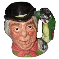 Vintage Royal Doulton Miniature The Walrus and Carpenter Toby Character Jug D6608 1954