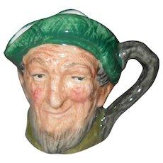 Vintage Royal Doulton miniature Auld Mac Toby character jug.D6253
