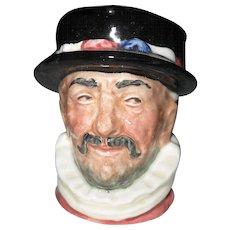 Royal Doulton Toby Jug Beefeater D 6251 Character Mug 1946