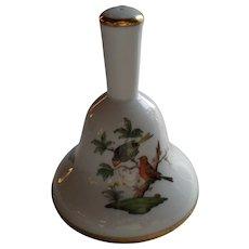 Herend Rothschild Dinner Bell Birds 8019/RO
